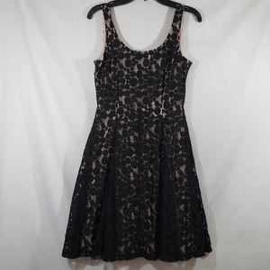 EUC Minnie Rocks the Dots Sleevless Layered Dress